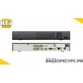 4 канальный HD TVI видеорегистратор HTV7204